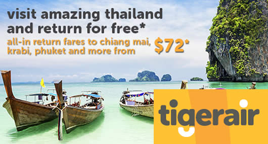 TigerAir Thailand Feat 30 May 2016