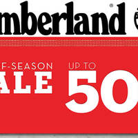Read more about Timberland Up to 50% Off End Of Season Sale from 12 May 2016