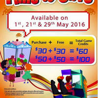 Read more about Timezone 100% Extra Double Dollar Promo on 29 May 2016