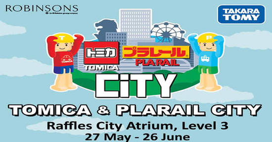 Tomica Plarail City Feat 26 May 2016