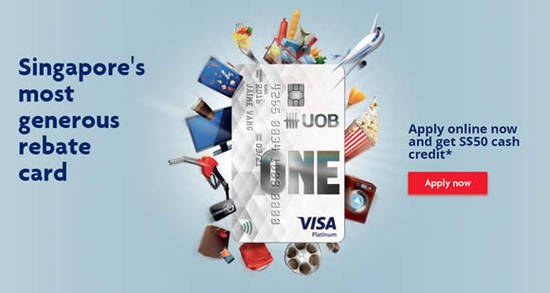 UOB One Card 6 May 2016