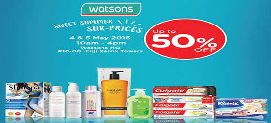 Watsons Feat 3 May 2016