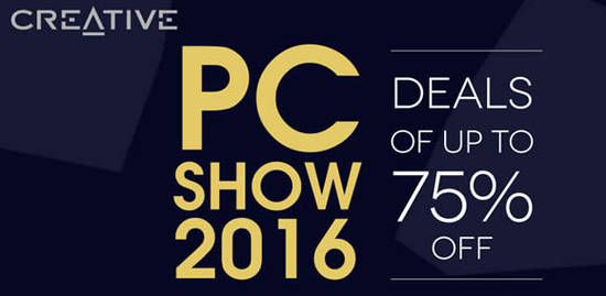 Creative PC SHOW 2 Jun 2016
