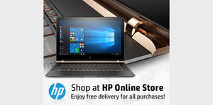 HP Online Store 10% to 15% off storewide coupon codes valid from 16 Jan – 31 Dec 2017