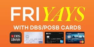 Lazada: 10% Off For DBS/POSB Cardmembers (Fridays) From 3 Jun – 30 Dec 2016