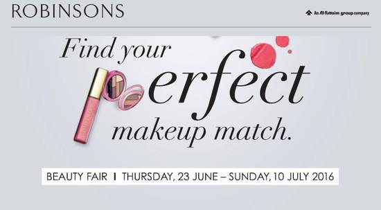 Robinsons Beauty Fair Feat 22 Jun 2016