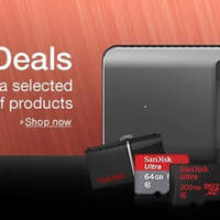 Get up to 27% discount on a range of SanDisk products with Amazon UK's 24hr Gold Box deal of the day