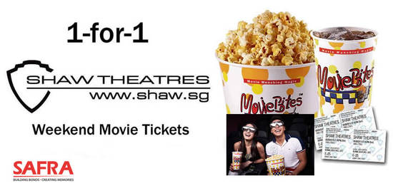 Shaw Theatres 1for1 27 Jun 2016