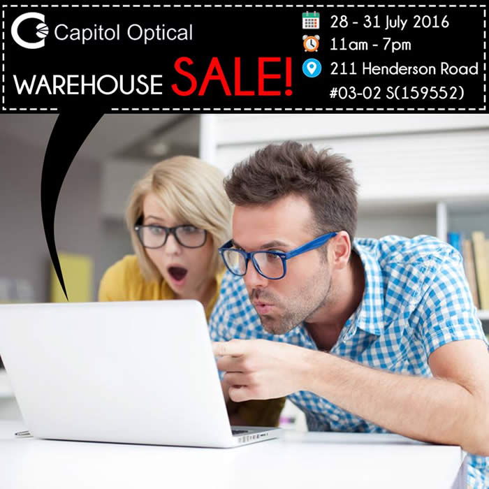 Capitol Optical Warehouse 26 Jul 2016