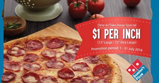 Dominos Pizza Feat 19 Jul 2016