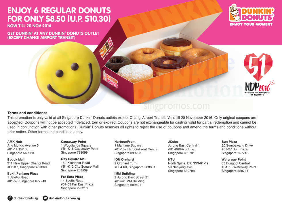 Free printable dunkin donuts coffee coupons 2018