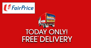 Enjoy FREE delivery at Fairprice Online with this promo code (min $60 spend) on 6 Dec 2016
