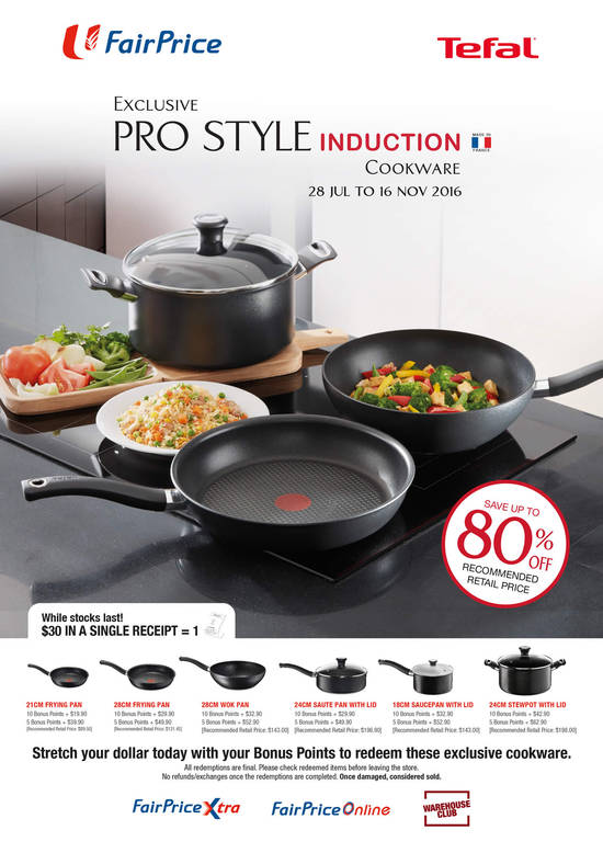 Ntuc tefal redemption