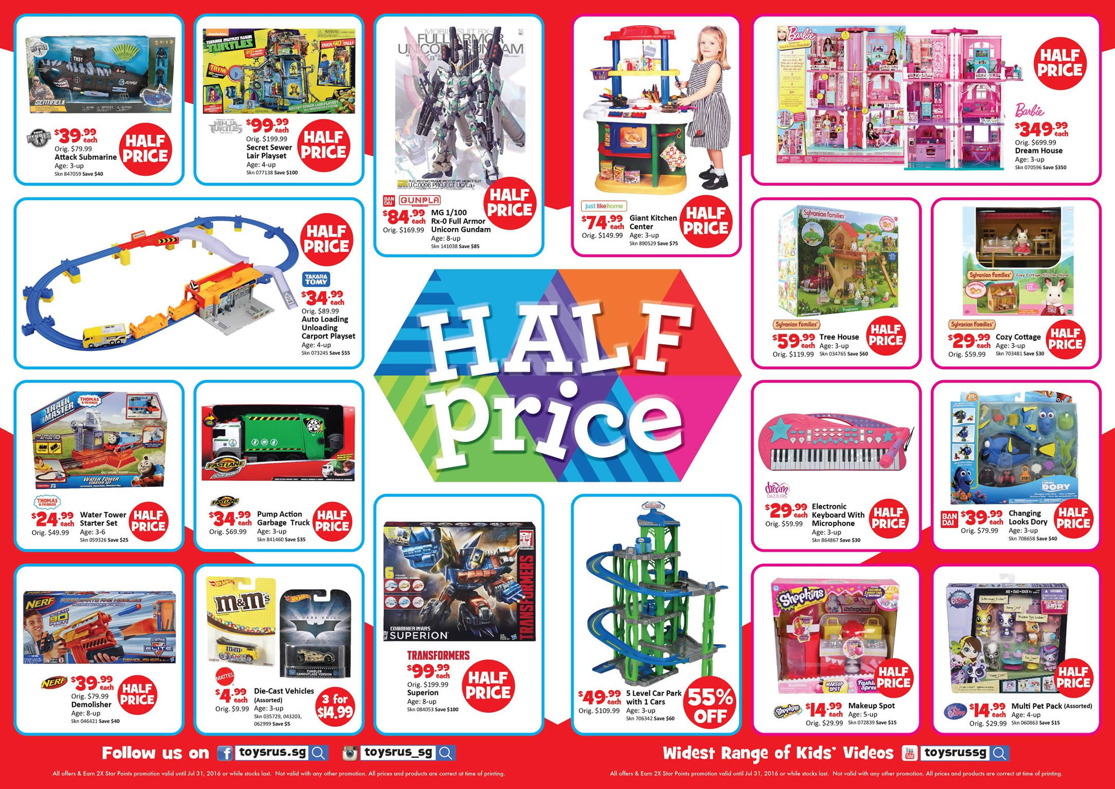 """Toys R Us Prices : Half price offers toys """"r us over"""