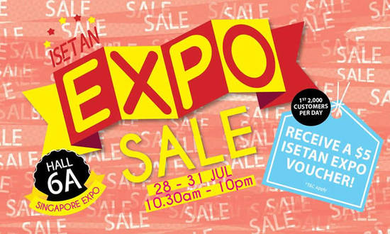 Isetan Expo Sale 26 Jul 2016