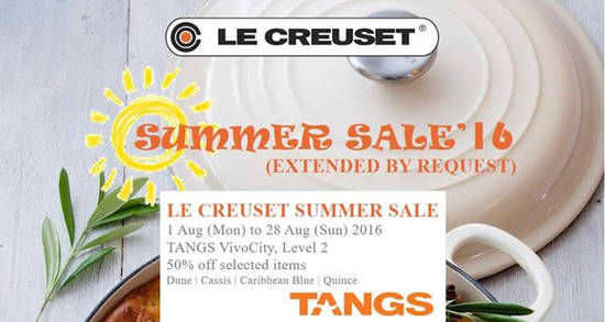 Le Creuset Feat 19 Aug 2016