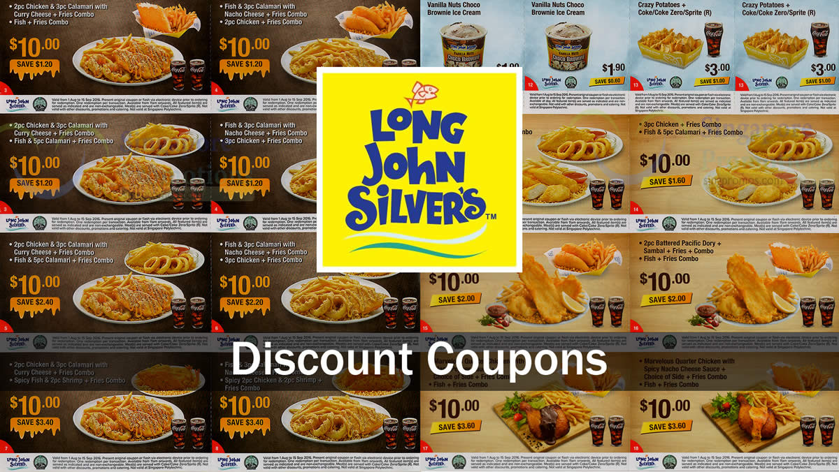 Long John Silvers Feat 30 Jul 2016