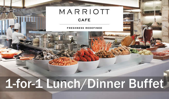 Marriott Cafe 1for1 26 Jul 2016