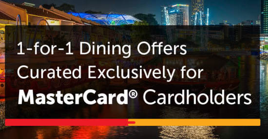 MasterCard Exclusive 1for1 29 Jul 2016