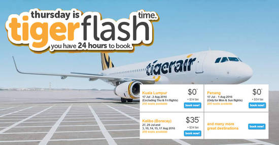 TigerAir 7 Jul 2016