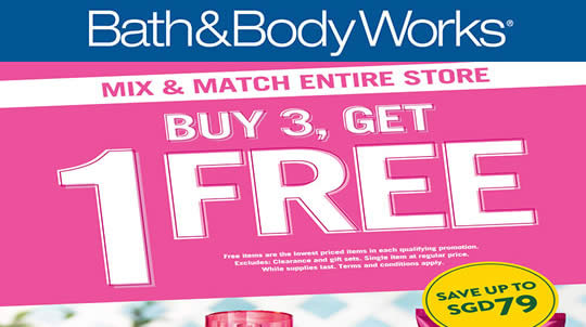 Bath Body Works Feat 19 Aug 2016