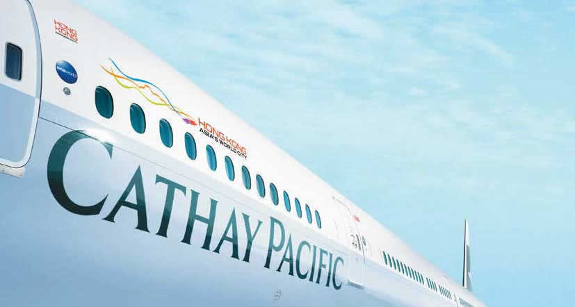 Cathay Pacific 4 Aug 2016