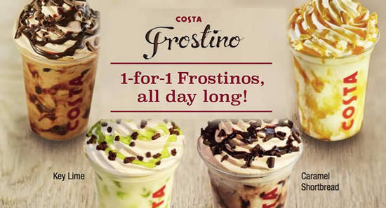 Costa Coffee Feat 1for1 24 Aug 2016