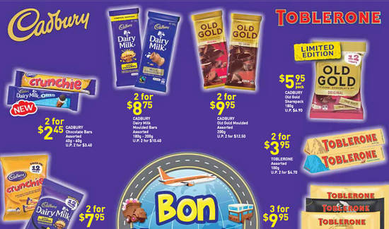 FairPrice Cadbury Toblerone Feat 19 Aug 2016