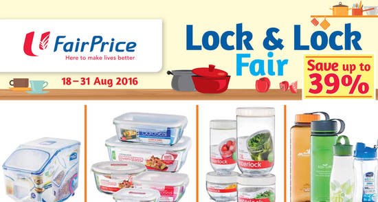 FairPrice Lock Lock Feat 18 Aug 2016