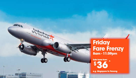 Jetstar Allin Frenzy 26 Aug 2016