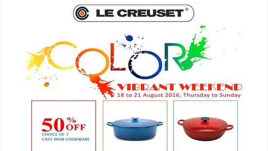 Le Creuset Vibrant Feat 18 Aug 2016