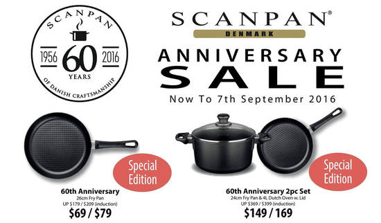 SCANPAN 60th Anniversary Feat 5 Aug 2016