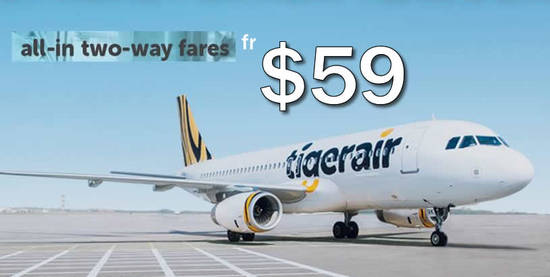 TigerAir From 59 1 Aug 2016