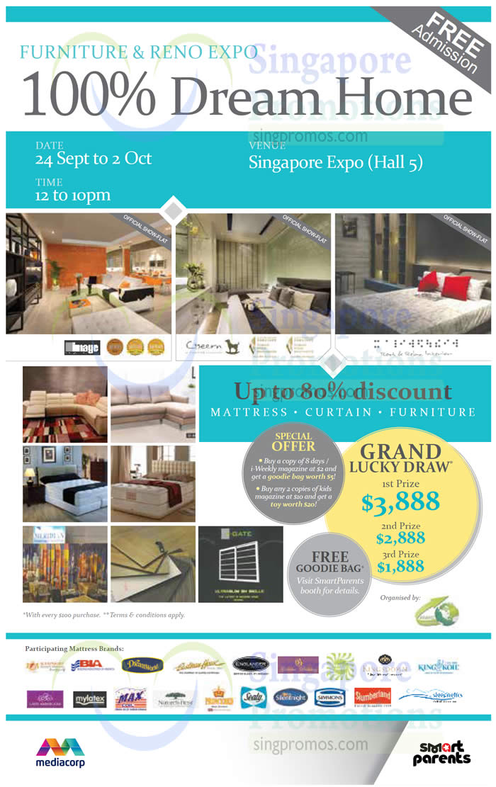 100 Dream Home Furniture Reno Expo From 24 Sep 2 Oct 2016
