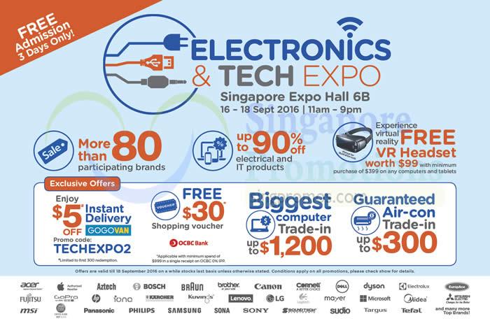 Electronics Tech Expo 8 Sep 2016