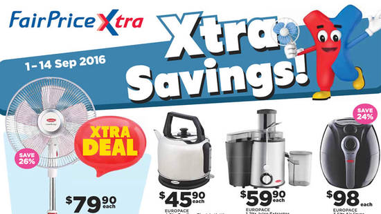 Fairprice Xtra Feat 2 Sep 2016