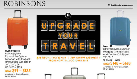 Robinsons Travel Fair Feat 26 Sep 2016