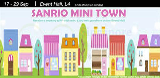 Sanrio Mini Town 12 Sep 2016