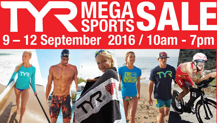 TYR Mega Sports Feat 5 Sep 2016