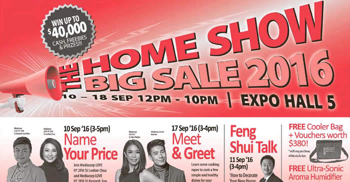 The Home Show Feat 10 Sep 2016