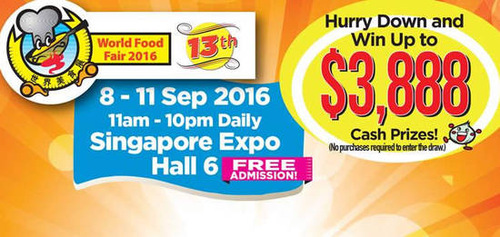 World Food Fair Feat 7 Sep 2016