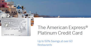 American Express Platinum Card: Apply & get free gifts worth up to $1,485! From 27 Apr – 15 Sep 2017