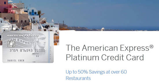 American Express Platinum 29 Oct 2016