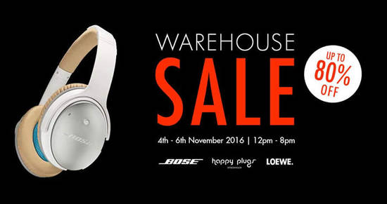 Atlas Warehouse Sale Feat 31 Oct 2016