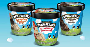 Cold Storage: Ben & Jerry's at 2-for-$18.95, Kettle Brand potato chips & more! From 28 – 30 Jul 2017