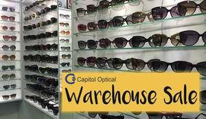 Capitol Optical's warehouse sale offers up to 70% off discounts from 27 – 30 Jul 2017