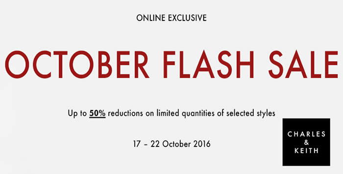 Charles Keith Feat 17 Oct 2016