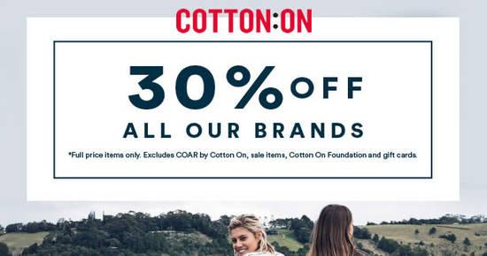 Cotton On Feat 18 Oct 2016