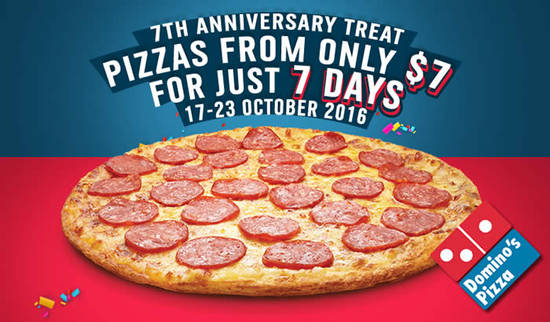 Dominos Pizza Feat 17 Oct 2016