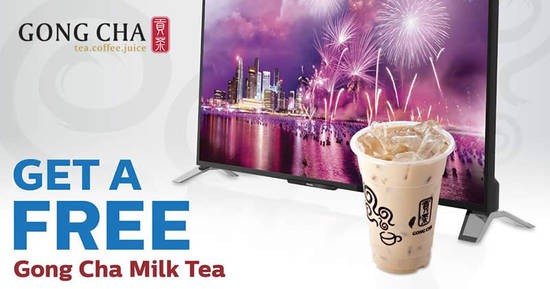 Free Gong Cha Feat 27 Oct 2016